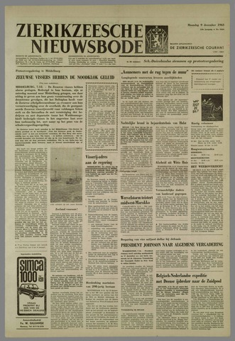 Zierikzeesche Nieuwsbode 1963-12-09
