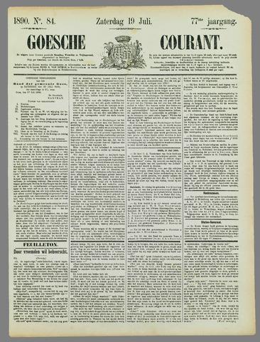 Goessche Courant 1890-07-19