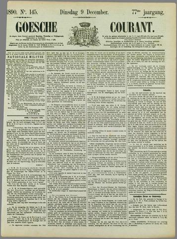 Goessche Courant 1890-12-09