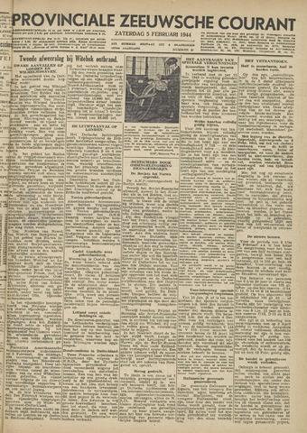 Provinciale Zeeuwse Courant 1944-02-05