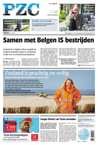 Provinciale Zeeuwse Courant 2015-05-22