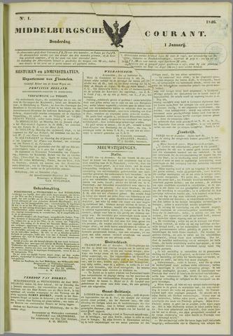 Middelburgsche Courant 1846-01-01