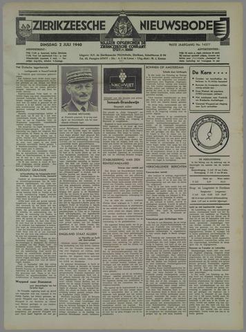 Zierikzeesche Nieuwsbode 1940-07-02