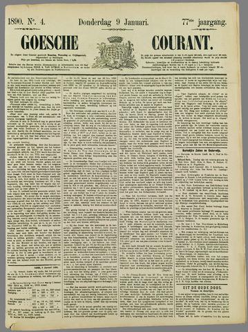 Goessche Courant 1890-01-09