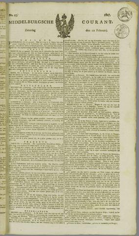Middelburgsche Courant 1817-02-22