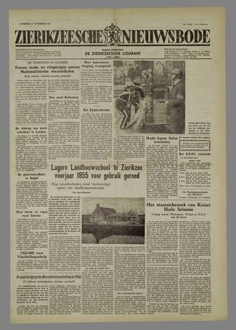 Zierikzeesche Nieuwsbode 1954-11-06