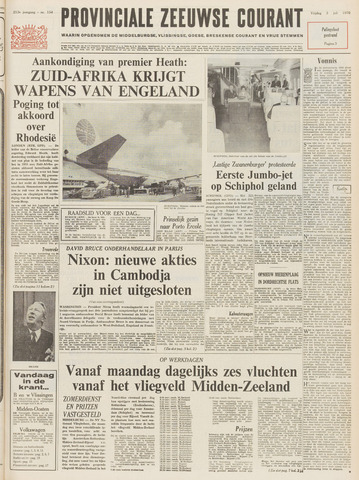 Provinciale Zeeuwse Courant 1970-07-03