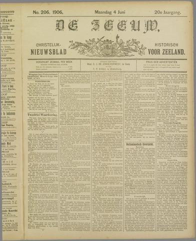 De Zeeuw. Christelijk-historisch nieuwsblad voor Zeeland 1906-06-04