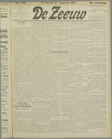 De Zeeuw. Christelijk-historisch nieuwsblad voor Zeeland 1917-08-15