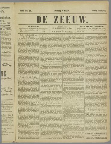 De Zeeuw. Christelijk-historisch nieuwsblad voor Zeeland 1890-03-04