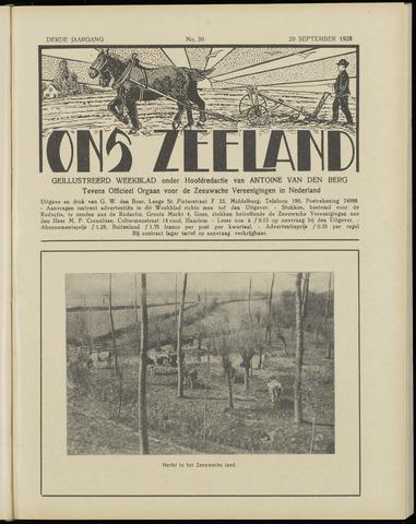 Ons Zeeland / Zeeuwsche editie 1928-09-29