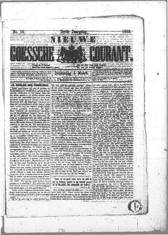 Nieuwe Goessche Courant 1868-03-05