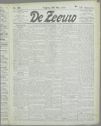 De Zeeuw. Christelijk-historisch nieuwsblad voor Zeeland 1919-05-30