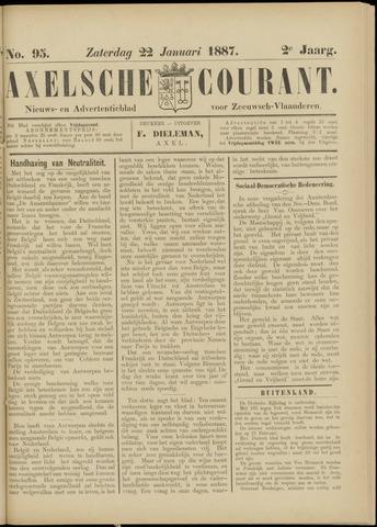 Axelsche Courant 1887-01-22