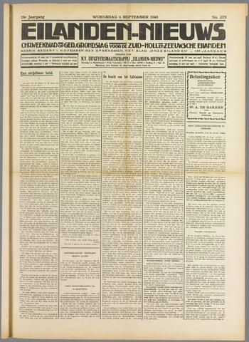 Eilanden-nieuws. Christelijk streekblad op gereformeerde grondslag 1940-09-04