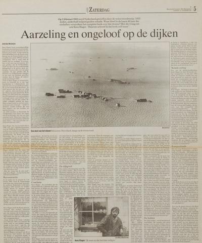 Watersnood documentatie 1953 - kranten 1993-11-21