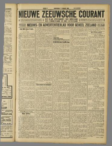 Nieuwe Zeeuwsche Courant 1929-02-07