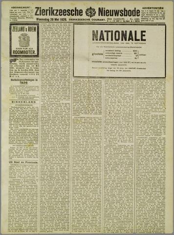 Zierikzeesche Nieuwsbode 1926-05-26