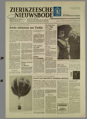 Zierikzeesche Nieuwsbode 1974-07-22