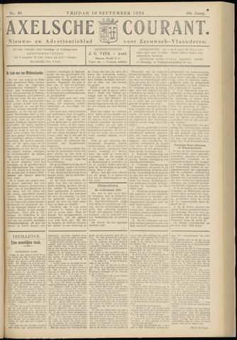 Axelsche Courant 1932-09-16