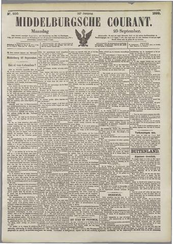 Middelburgsche Courant 1899-09-25
