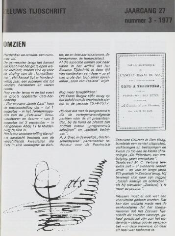 Zeeuws Tijdschrift 1977-06-01
