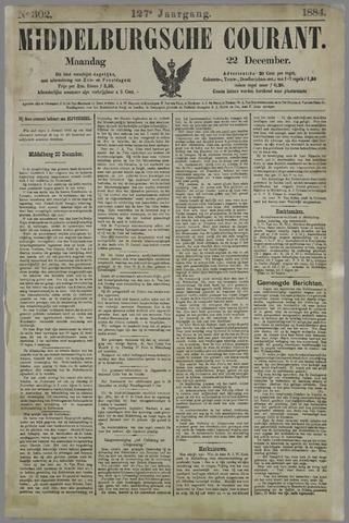 Middelburgsche Courant 1884-12-22
