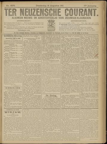 Ter Neuzensche Courant. Algemeen Nieuws- en Advertentieblad voor Zeeuwsch-Vlaanderen / Neuzensche Courant ... (idem) / (Algemeen) nieuws en advertentieblad voor Zeeuwsch-Vlaanderen 1917-08-16