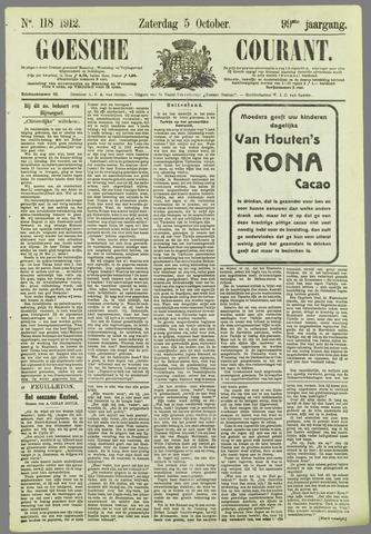 Goessche Courant 1912-10-05
