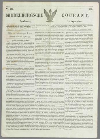 Middelburgsche Courant 1857-09-24
