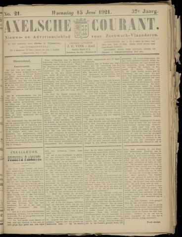 Axelsche Courant 1921-06-15