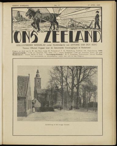 Ons Zeeland / Zeeuwsche editie 1929-04-27