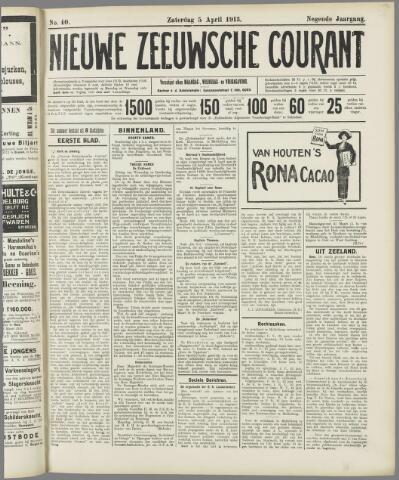 Nieuwe Zeeuwsche Courant 1913-04-05