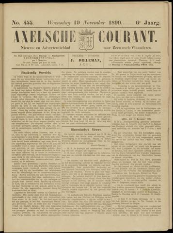 Axelsche Courant 1890-11-19