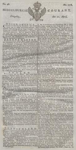 Middelburgsche Courant 1778-04-21