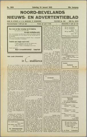 Noord-Bevelands Nieuws- en advertentieblad 1953-01-24