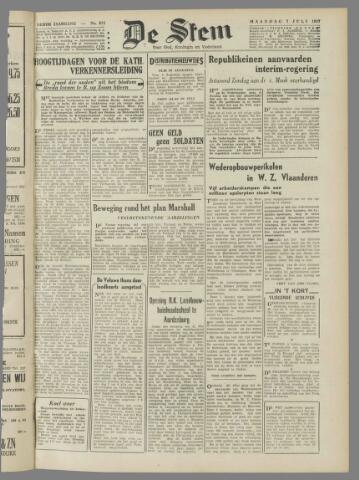 de Stem 1947-07-07