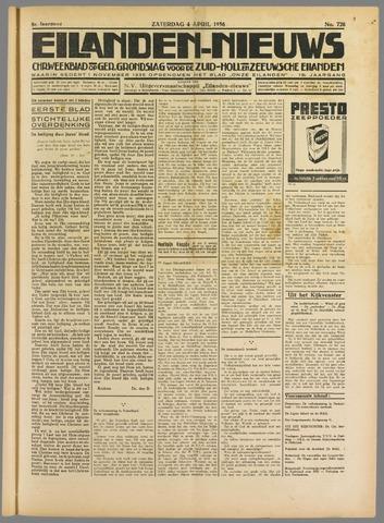 Eilanden-nieuws. Christelijk streekblad op gereformeerde grondslag 1936-04-04