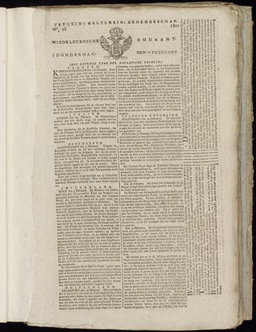 Middelburgsche Courant 1801-02-26