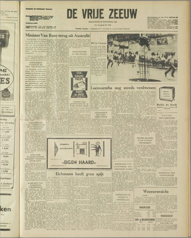 de Vrije Zeeuw 1960-11-30