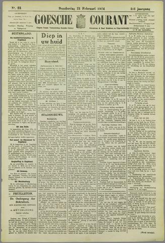 Goessche Courant 1924-02-21