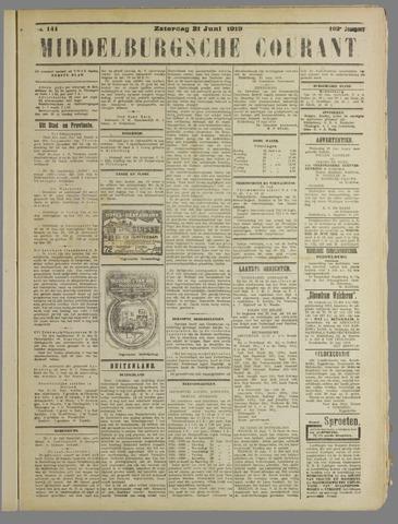 Middelburgsche Courant 1919-06-21