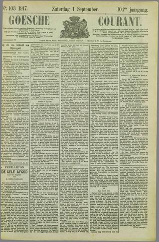 Goessche Courant 1917-09-01