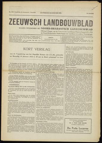 Zeeuwsch landbouwblad ... ZLM land- en tuinbouwblad 1953-01-24