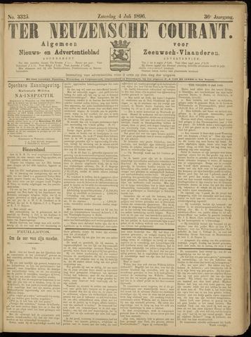 Ter Neuzensche Courant. Algemeen Nieuws- en Advertentieblad voor Zeeuwsch-Vlaanderen / Neuzensche Courant ... (idem) / (Algemeen) nieuws en advertentieblad voor Zeeuwsch-Vlaanderen 1896-07-04