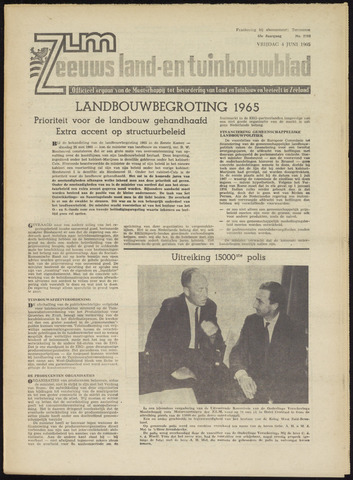 Zeeuwsch landbouwblad ... ZLM land- en tuinbouwblad 1965-06-04