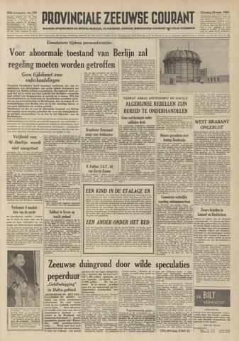 Provinciale Zeeuwse Courant 1959-09-29