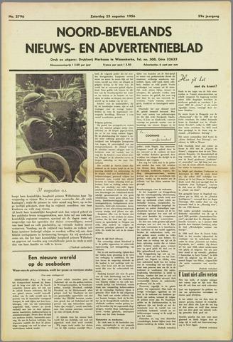 Noord-Bevelands Nieuws- en advertentieblad 1956-08-25