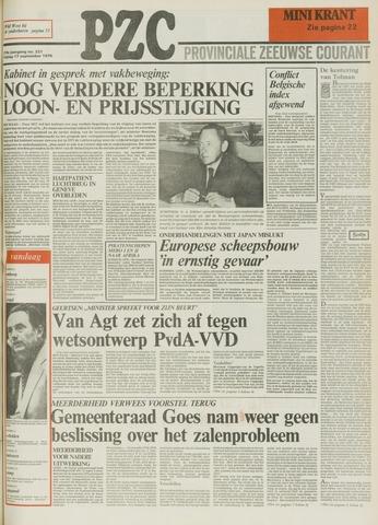 Provinciale Zeeuwse Courant 1976-09-17