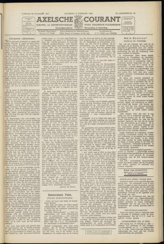 Axelsche Courant 1949-02-19